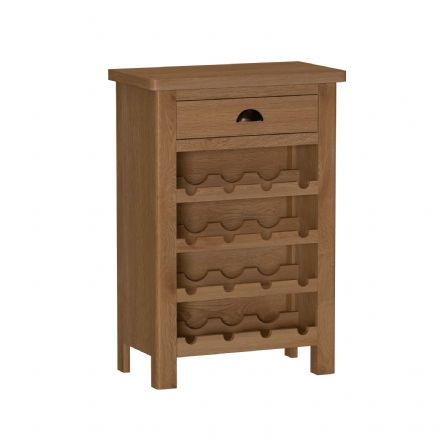 Richmond Oak Wine Cabinet